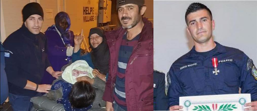 Ήρωας Ειδικός Φρουρός ξεγέννησε προσφυγοπούλα