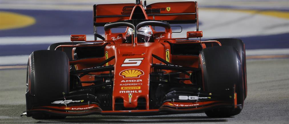 Θρίαμβος της Ferrari στην Σιγκαπούρη