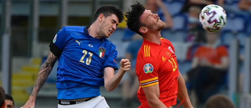 Euro 2020: Η Ιταλία νίκησε την Ουαλία και πήρε την πρωτιά (βίντεο)