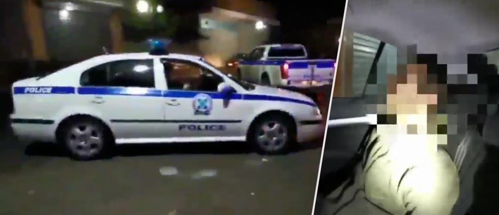 Βίντεο-ντοκουμέντο: Η κλοπή, η καταδίωξη σε στενά της Αττικής και η σύλληψη των κλεφτών