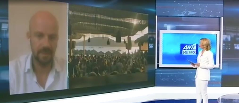 Ζησιμόπουλος στον ΑΝΤ1: ανοιχτό το ενδεχόμενο να κλείσουν μαγαζιά στη Μύκονο (βίντεο)