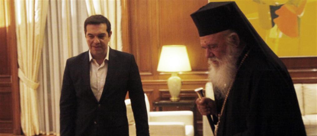 Συνάντηση Τσίπρα-Ιερώνυμου μακριά από τα φώτα της δημοσιότητας