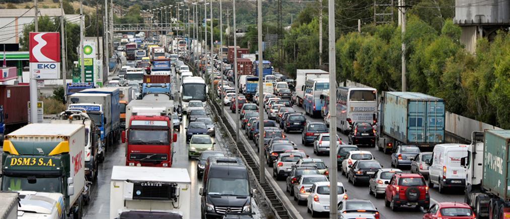 Τροχαίο στον Ασπρόπυργο: έκλεισε η Αθηνών - Κορίνθου