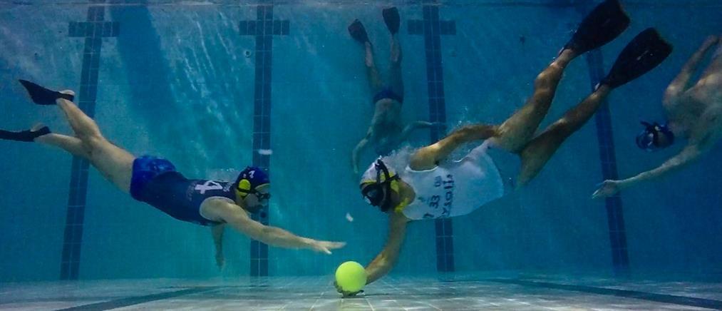 """Το VICE Greece παρουσιάζει το """"υποβρύχιο ράγκμπι"""" στην Ελλάδα"""