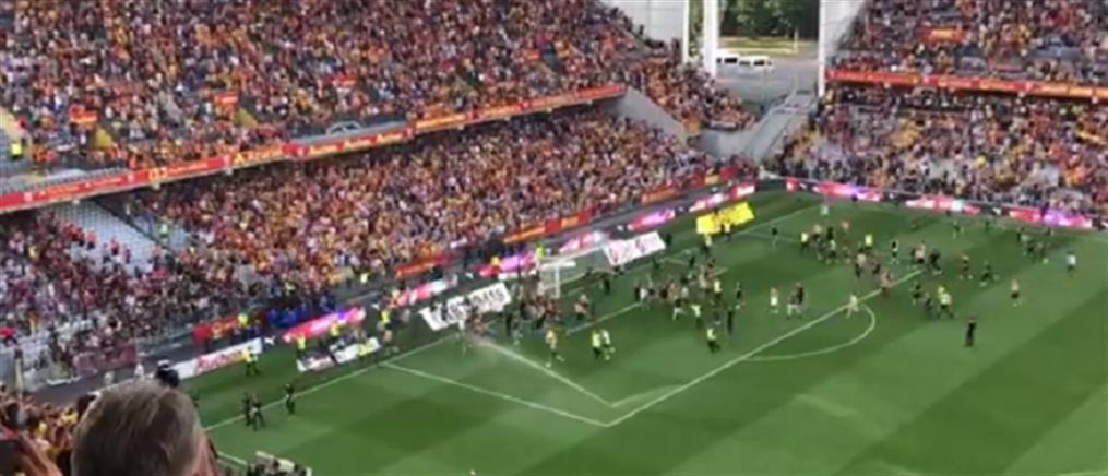 Ligue 1: επεισόδια στο Λανς - Λιλ (εικόνες)