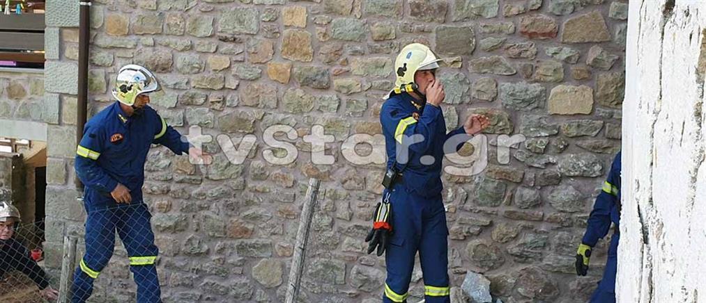 Τραγωδία: εργάτης καταπλακώθηκε από τοίχο (εικόνες)
