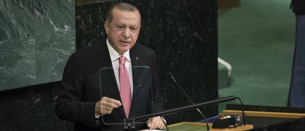 Ερντογάν: Ο Μπαρζανί ρίχνει τον εαυτό του στη φωτιά