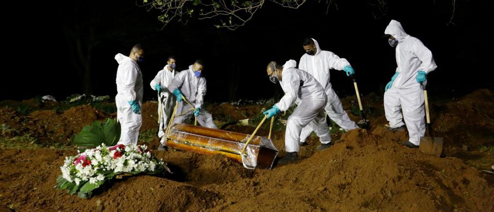 Θάνατοι από κορονοϊό: οι χώρες με τους περισσότερους νεκρούς