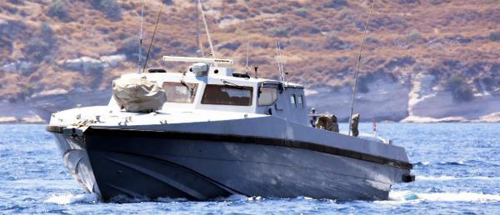 """Το πρώτο """"αόρατο"""" σκάφος """"έριξαν"""" οι Τούρκοι στο Αιγαίο"""