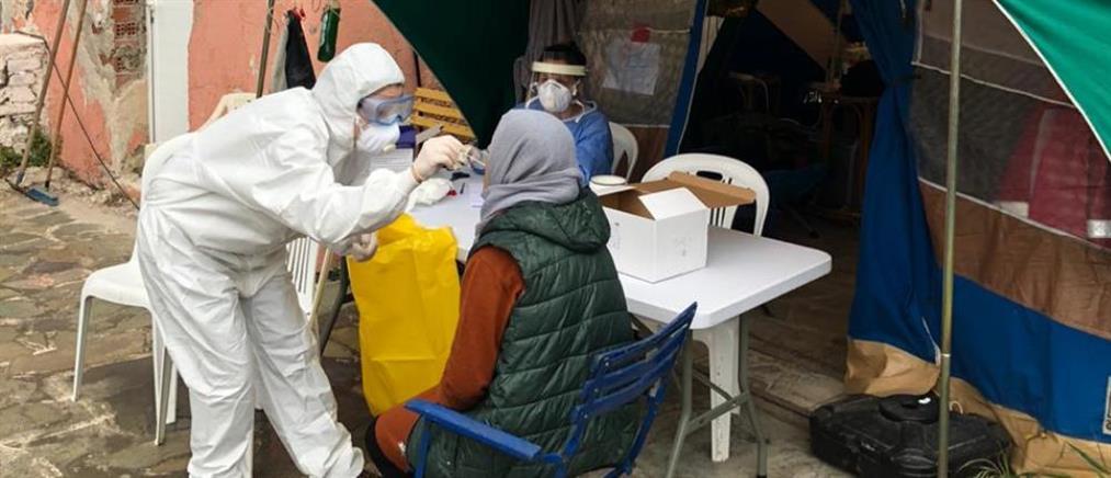 Κορονοϊός: Κλιμάκιο του ΕΟΔΥ στην Κέα για ελέγχους σε αιτούντες άσυλο