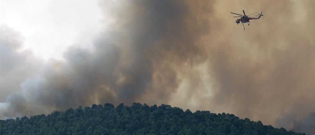 Πολύ υψηλός κίνδυνος πυρκαγιάς την Τετάρτη (χάρτης)