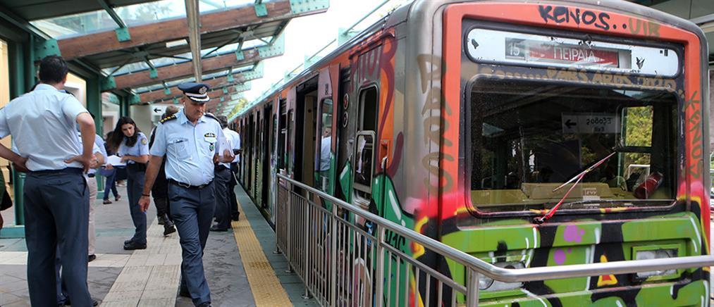 """Σιδηροδρομικό ατύχημα: """"Λαχτάρησαν"""" οι επιβάτες στον σταθμό του ΗΣΑΠ στην Κηφισιά (βίντεο)"""