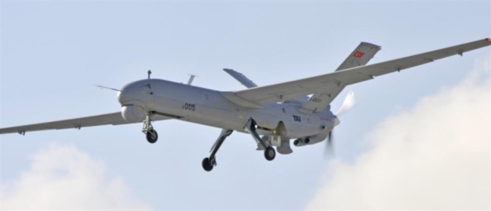 Μη επανδρωμένα τουρκικά αεροσκάφη πάνω από το Αιγαίο (βίντεο)