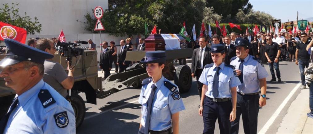 Η Κύπρος αποχαιρετά τον Δημήτρη Χριστόφια (εικόνες)