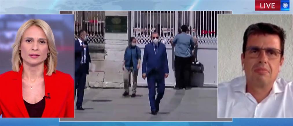 Καιρίδης στον ΑΝΤ1: Τι σηματοδοτεί η συμφωνία Ελλάδας-Αιγύπτου (βίντεο)