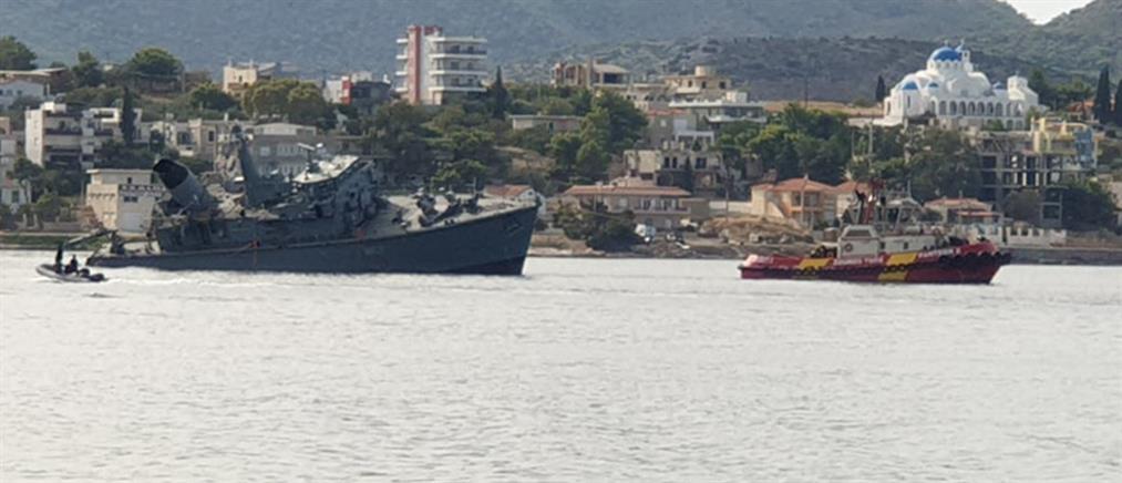 """Πέτσας: Από θαύμα δεν θρηνήσαμε θύματα - Το πλοίο… ανέβηκε πάνω στο """"Καλλιστώ"""""""