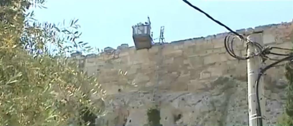 Η μητέρα του Ερμή στον ΑΝΤ1 για την περιπέτεια με το αναβατόριο στην Ακρόπολη (βίντεο)
