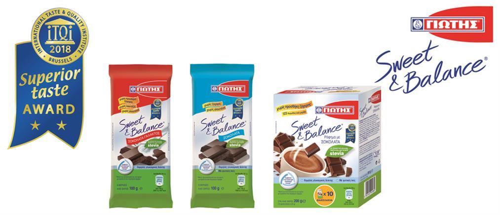 Νέα κορυφαία διεθνής διάκριση για τα Sweet & Balance της ΓΙΩΤΗΣ