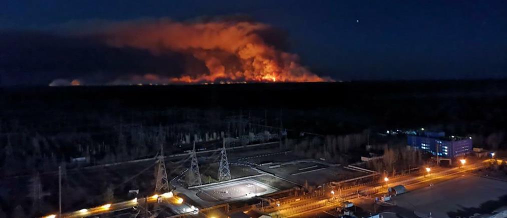 """""""Σήμα κινδύνου"""" από την Greenpeace για την φωτιά στο Τσερνόμπιλ"""
