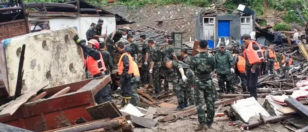 Δεκάδες νεκροί στην Κίνα από το πέρασμα του τυφώνα Λέκιμα