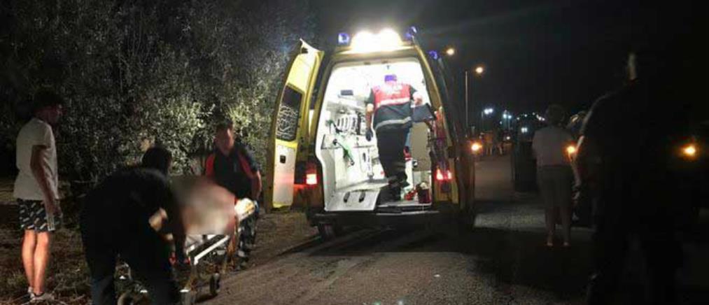 Αυτοκίνητο έπεσε πάνω σε παιδιά με ποδήλατα! (εικόνες)