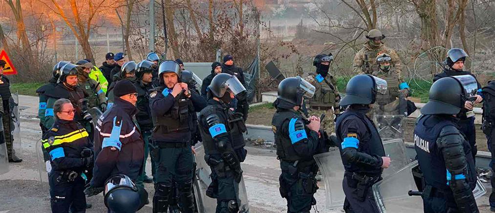 Μεταναστευτικό: ισχυρές δυνάμεις της Frontex αναπτύσσονται στον Έβρο (εικόνες)