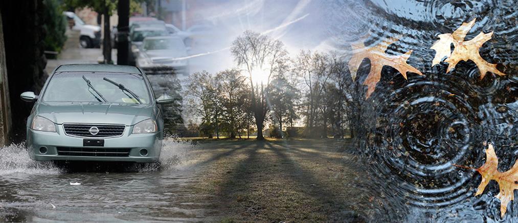 Καιρός: Καταιγίδες και αισθητή πτώση της θερμοκρασίας την Παρασκευή