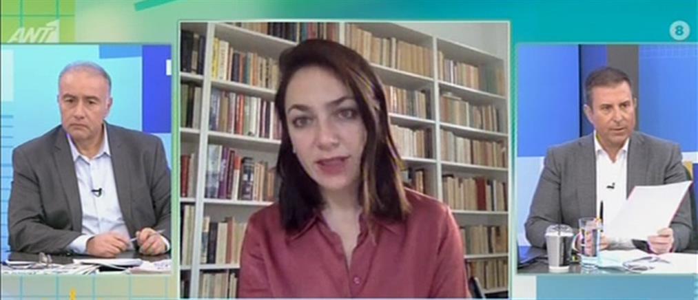 Δόμνα Μιχαηλίδου στον ΑΝΤ1: Παράταση στα προνοιακά επιδόματα (βίντεο)