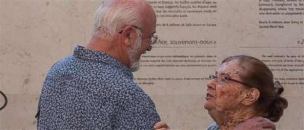 Βρήκε 70 χρόνια μετά την οικογένεια που την έσωσε από το Άουσβιτς (εικόνες)