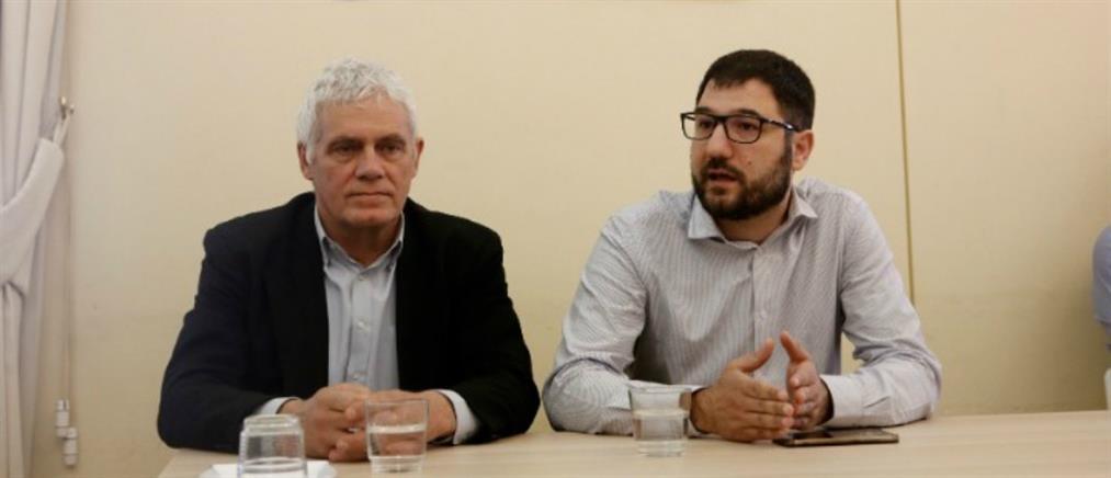 Μαζί Ηλιόπουλος - Τσιρώνης για τον Δήμο Αθηναίων