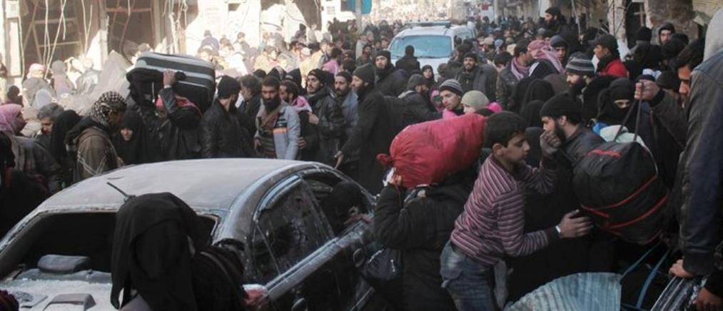 Ανεστάλη η απομάκρυνση τραυματιών και αμάχων από το Χαλέπι (Βίντεο)