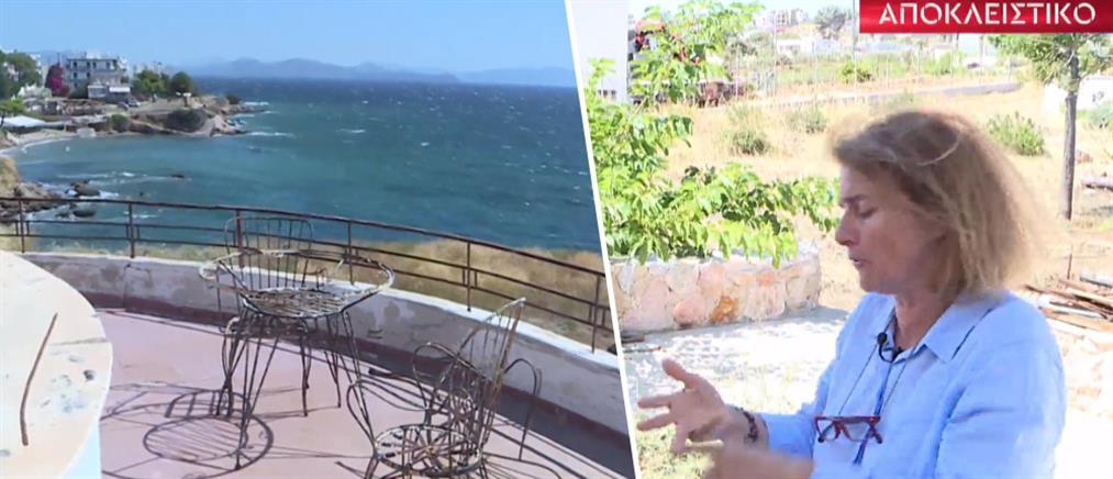 """Μάτι - Αργυρά Ακτή: το """"οικόπεδο Φράγκου"""" και η μαρτυρία της ιδιοκτήτριας στον ΑΝΤ1 (βίντεο)"""