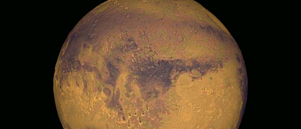 Ενδείξεις για έκρηξη ηφαιστείου στον Άρη πριν από 53000 χρόνια