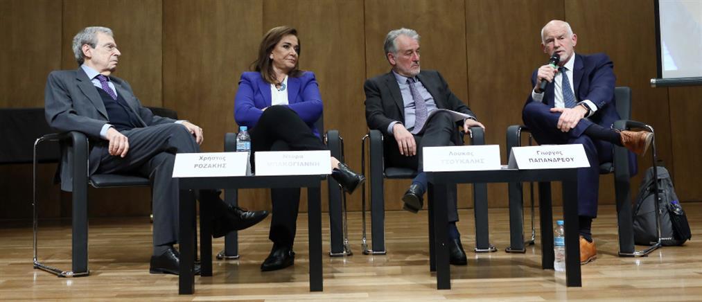 Μπακογιάννη, Παπανδρέου και Κατρούγκαλος τάχθηκαν υπέρ της προσφυγής στη Χάγη