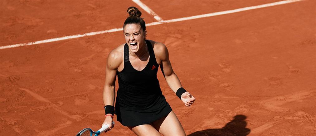 Roland Garros - Σάκκαρη: Ιστορική πρόκριση στα προημιτελικά