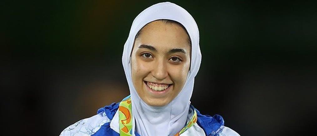 Κίμια Αλιζαντέχ: η Ολυμπιονίκης του Ιράν φεύγει από την χώρα