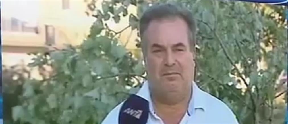 Ο Δήμαρχος Προποντίδας στον ΑΝΤ1 για το φονικό μπουρίνι (βίντεο)