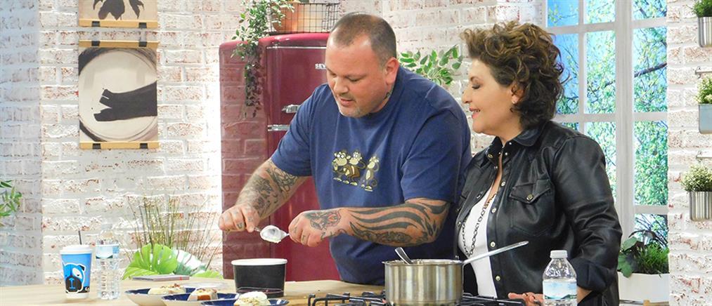 """""""Food N' Friends"""": η Γιώτα Νέγκα παραδίδει… μαθήματα στην κουζίνα (εικόνες)"""