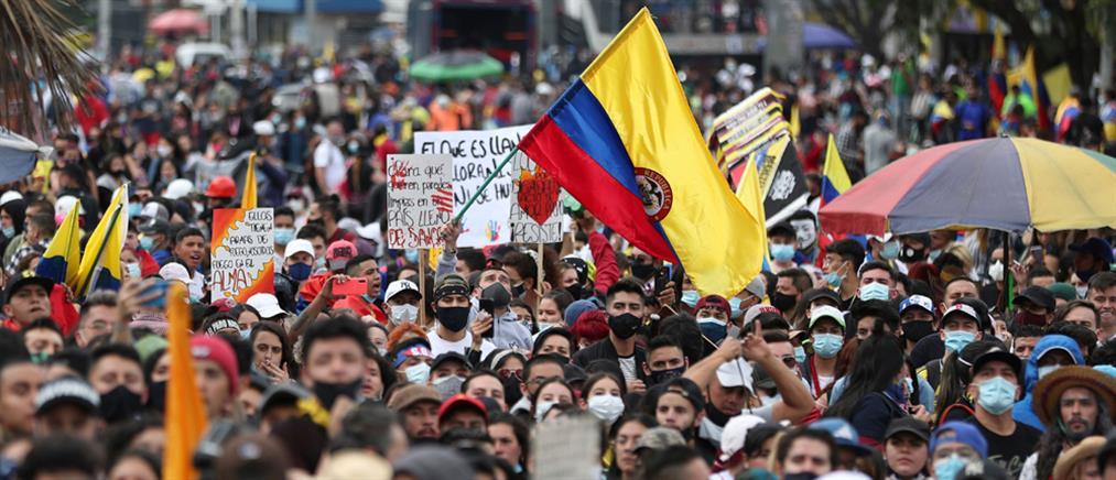 Κολομβία: Δεκάδες νεκροί στις διαδηλώσεις κατά της φορολογικής μεταρρύθμισης του Ντούκε (βίντεο)