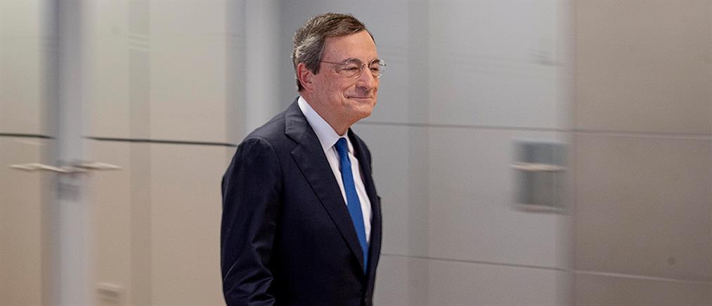 Ντράγκι: μεγάλη επιτυχία για την Ελλάδα τα αρνητικά επιτόκια δανεισμού