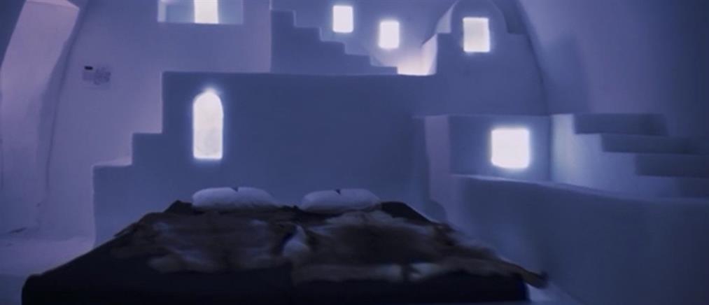 Το ξενοδοχείο-κόσμημα φτιαγμένο εξ ολοκλήρου από πάγο (βίντεο)
