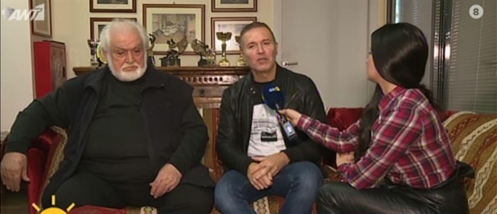 """O Κώστας Καζάκος για την """"Όμορφη πόλη"""", την Τζένη Καρέζη και την οικογένεια του (βίντεο)"""
