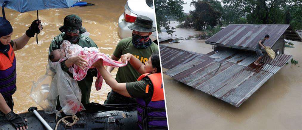 Φιλιππίνες: φονικός τυφώνας σαρώνει τη χώρα (εικόνες)