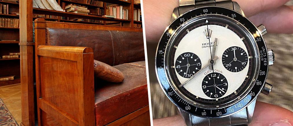 Αγόρασε καναπέ 25 δολαρίων και βρήκε το πιο σπάνιο Rolex