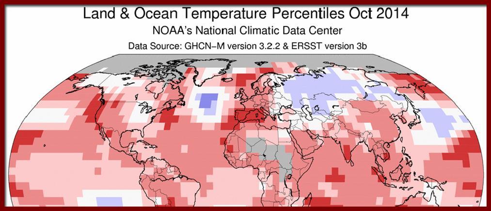 Οκτώβριος, ο θερμότερος μήνας από το 1880
