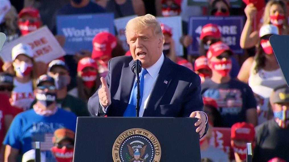 Εκλογές - ΗΠΑ; Ο Τραμπ υποστηρίζει πως ο Μπάιντεν θα προκαλούσε κατάθλιψη