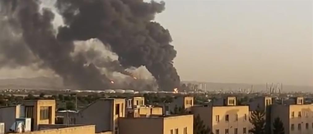 Ιράν: Φωτιά σε διυλιστήριο της Τεχεράνης (βίντεο)