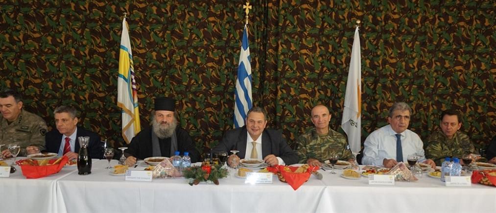 Καμμένος: δεν έχουμε τίποτα να φοβηθούμε όπου υπάρχει ελληνική σημαία