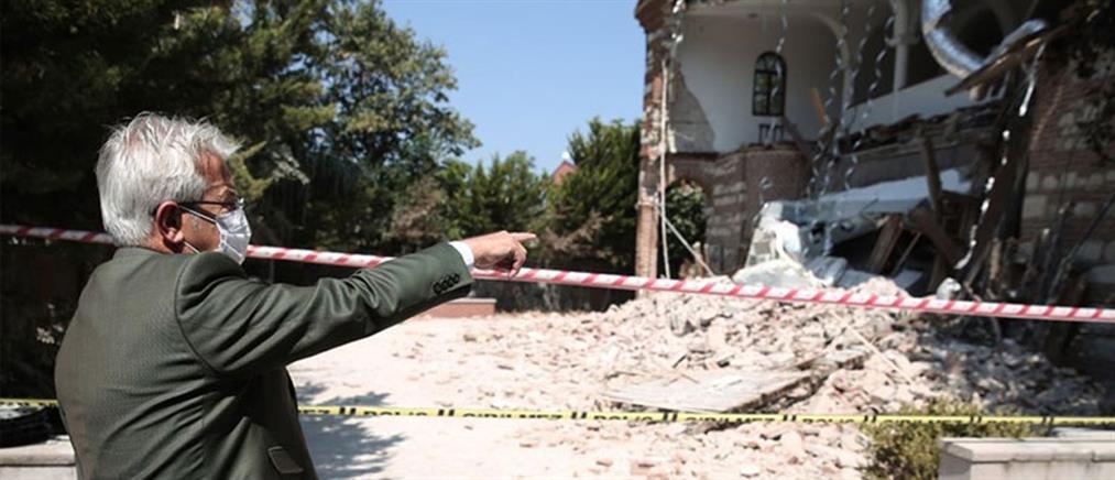 Τουρκία: Κατέρρευσε η εκκλησία του Αγίου Γεωργίου στην Προύσα