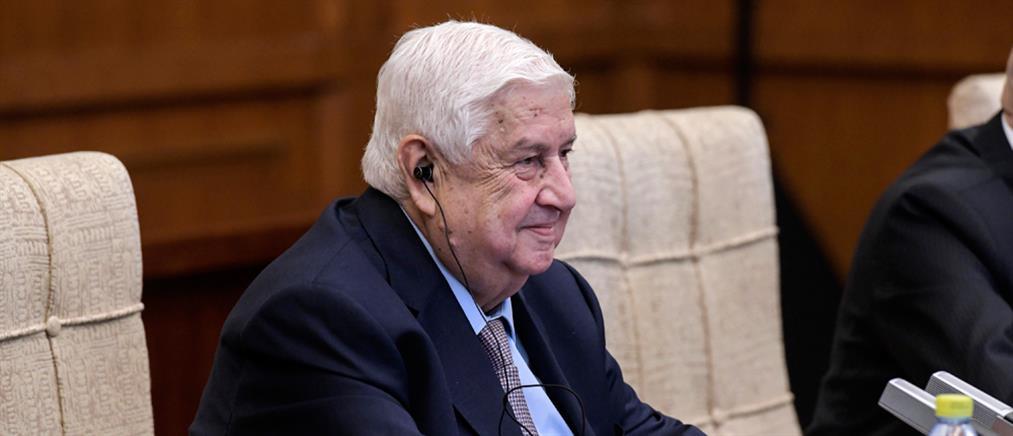 Συρία: Πέθανε ο Υπουργός Εξωτερικών